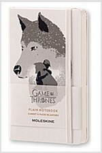 Moleskine Game of Thrones Limited Edition Notebook, Pocket, Plain, White, Hard Cover (3.5 X 5.5) (Other)