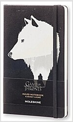 Moleskine Game of Thrones Limited Edition Notebook, Large, Ruled, Black, Hard Cover (5 X 8.25) (Other)