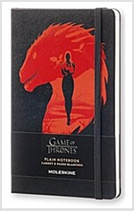 Moleskine Game of Thrones Limited Edition Notebook, Large, Plain, Black, Hard Cover (5 X 8.25) (Other)