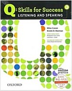 Q Skills for Success: Listening and Speaking 3: Student Book with Online Practice (Package)