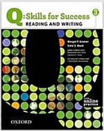 Q Skills for Success: Reading and Writing 3: Student Book with Online Practice (Package)