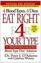 [중고] Eat Right 4 Your Type: The Individualized Blood Type Diet Solution (Hardcover, Revised, Update)