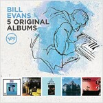 [수입] Bill Evans - 5 Original Albums [5CD]