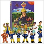 Fireman Sam My Busy Book (미니피규어 12종 포함) (Board Book)