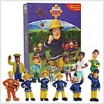 Fireman Sam My Busy Book (미니피규어 12종 포함) (Board Book)
