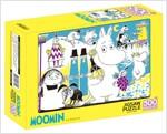 무민 직소퍼즐 500조각 : 노란 장미와 포도