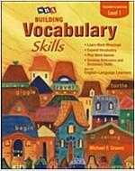 Building Vocabulary Skill Level 1 : Teacher's Edition