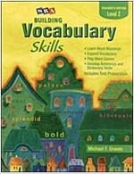 Building Vocabulary Skill Level 2 : Teacher's Edition
