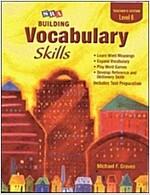 Building Vocabulary Skill Level 6 : Teacher's Edition