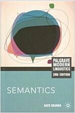 Semantics (Paperback, 2nd ed. 2011)