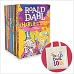 Roald Dahl 10 Books Collection + 에코백 증정 (10 Paperback)