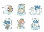 ラバ-マスコット 銀魂 ハタ皇子と氷の動物じゃ!編(BOX) (おもちゃ&ホビ-)