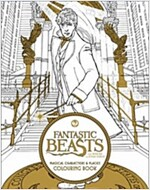 Fantastic Beasts and Where to Find Them: Magical Characters and Places Colouring Book (Paperback)
