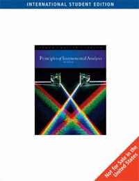 principles of instrumental analysis 6th edition pdf