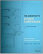 The Architect's Studio Companion: Rules of Thumb for Preliminary Design (Paperback, 6)