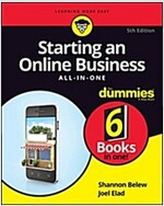 Starting an Online Business All-In-One for Dummies (Paperback, 5)
