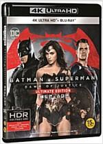 [블루레이] 배트맨 대 슈퍼맨: 저스티스의 시작 - 한정판 콤보팩 (2disc: 4K UHD UE+2D)