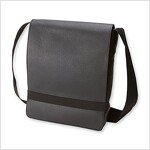 Moleskine Classic Leather Reporter Bag, Black (Other)