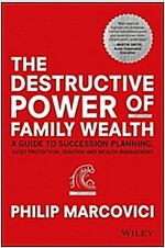 The Destructive Power of Family Wealth: A Guide to Succession Planning, Asset Protection, Taxation and Wealth Management (Hardcover)