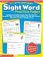 100 Write-And-Learn Sight Word Practice Pages: Engaging Reproducible Activity Pages That Help Kids Recognize, Write, and Really Learn the Top 100 High (Paperback)