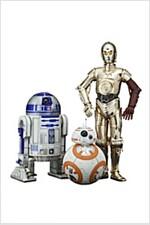 ARTFX+ STAR WARS R2-D2 & C-3PO with BB-8 1/10スケ-ル PVC製 塗裝濟み簡易組立フィギュア (おもちゃ&ホビ-)