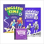 English Time Level 4 Pack (Student Book 1권 + Workbook 1권 + CD 2장)