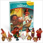 My Busy Books : Moana (미니피규어 12개 포함) (Hardcover)