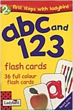 [중고] Flash Cards: abc and 123