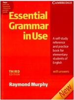 [중고] Essential Grammar in Use with Answers: A Self-Study Reference and Practice Book for Elementary Students of English (Paperback, 3)