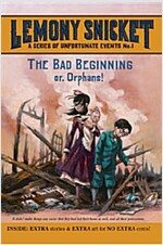 A Series of Unfortunate Events #1: The Bad Beginning (Paperback)