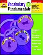 Vocabulary Fundamentals, Grade 1 (Paperback)