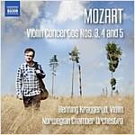 [수입] 모차르트 : 바이올린 협주곡 3-5번
