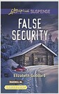 [중고] False Security (Mass Market Paperback, Large Print)