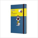Moleskine Limited Edition Peanuts, 12 Month Weekly Planner, Large, Sapphire Blue (5 X 8.25) (Desk)