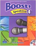 Boost! Speaking 4 (Student Book + CD 1장)