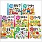 [애플비] 스티커로 놀아요 시리즈 (전8종) -음식.탈것.나와가족.동물.유치원.자연 등8종