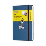Moleskine Limited Edition Peanuts, 12 Month Weekly Planner, Pocket, Sapphire Blue (3.5 X 5.5) (Desk)