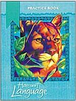 Harcourt School Publishers Language: Practice Workbook Grade 4 (Paperback, Student)