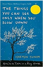 [중고] The Things You Can See Only When You Slow Down : How to be Calm in a Busy World (Hardcover)