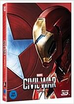 [3D 블루레이] 캡틴 아메리카: 시빌 워