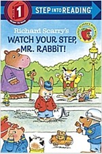 Richard Scarry's Watch Your Step, Mr. Rabbit! (Paperback)
