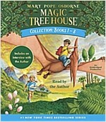 [중고] Magic Tree House Collection: Books 1-8: Dinosaurs Before Dark, the Knight at Dawn, Mummies in the Morning, Pirates Past Noon, Night of the Ninjas (Audio CD)