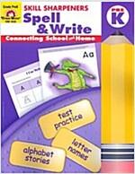 Spell & Write: Prek (Paperback)