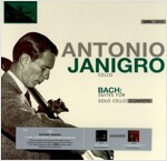 [수입] 안토니오 야니그로 - 바흐 : 무반주 첼로 전곡 [180g 3LP]