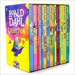 로알드달 컬렉션 Roald Dahl Collection - 15 Paperback Book Boxed Set (Paperback, NEW edition)