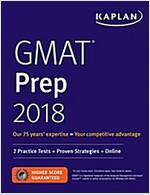 GMAT Prep 2018: 2 Practice Tests + Proven Strategies + Online (Paperback)