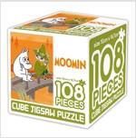 무민 큐브 직소퍼즐 108조각 1 : 무민과 스너프킨