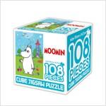 무민 큐브 직소퍼즐 108조각 2 : 무민과 생일 단추