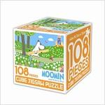 무민 큐브 직소퍼즐 108조각 4 : 무민과 꽃길