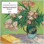 Impressionist Bouquets 2018 Wall Calendar (Wall)